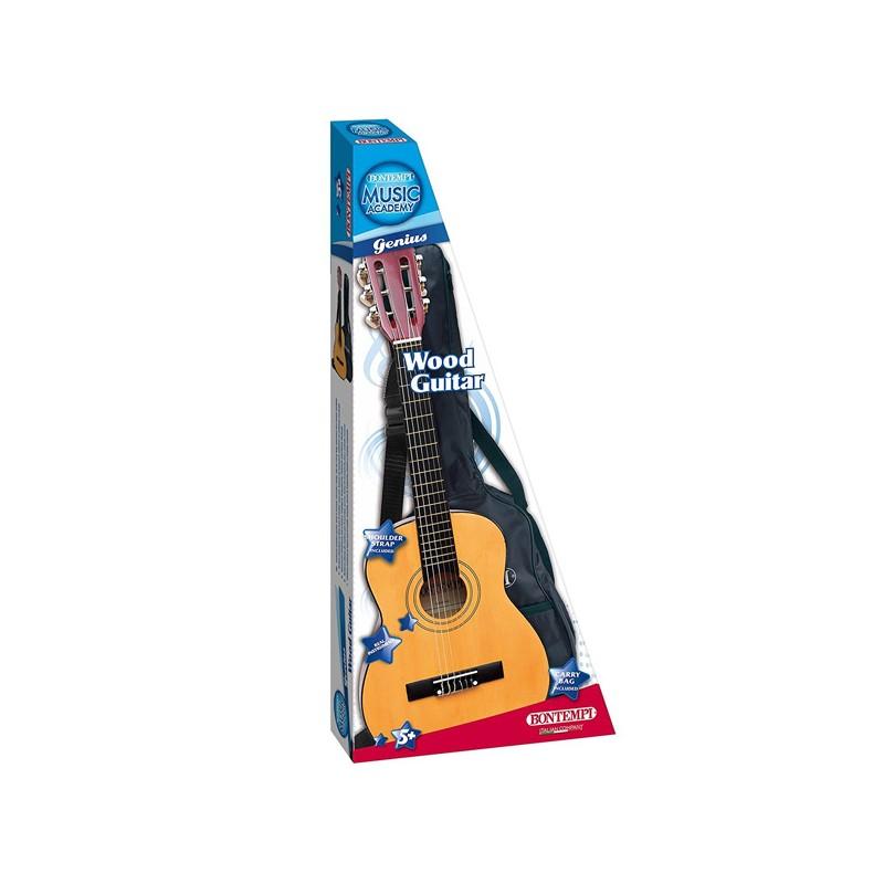 Guitarra clásica de madera Bontempi