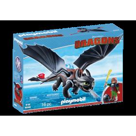 Hipo y Desdentao Playmobil