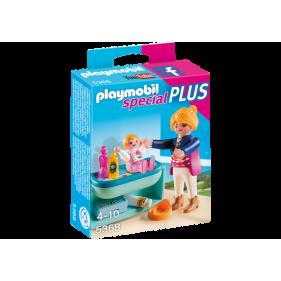 Mamá y Niño con Cambiador Playmobil