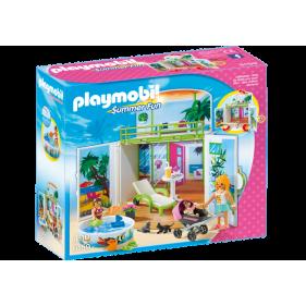Playmobil 6159 – Cofre Bungalow en la playa