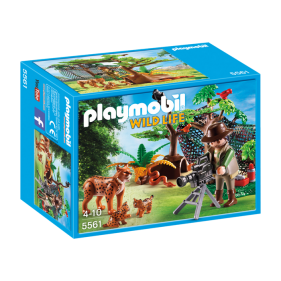 Playmobil 5561 – Familia de linces con cámara
