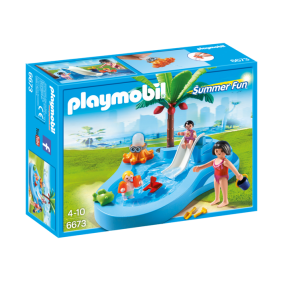 Playmobil 6673 – Piscina para niños con bebé