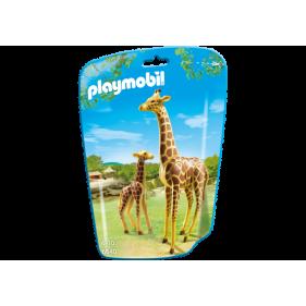 Playmobil 6640 – Jirafa con bebé