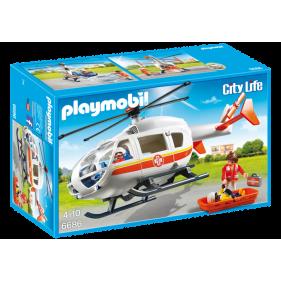 Playmobil 6686 – Helicóptero Médico de Emergencias