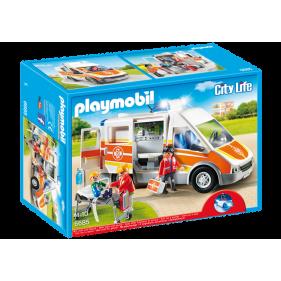 Playmobil 6685 – Ambulancia con luces y sonido
