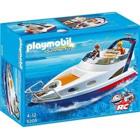Playmobil 5205 - Yate con cubierta extraíble