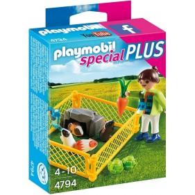 Playmobil 4794 – Niña con cobayas