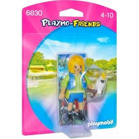 Playmobil 6830 – Cuidadora con Cacatua