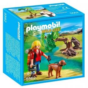 Playmobil 5562 – Castores con Mochilero