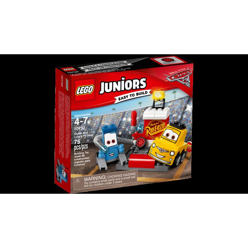 Lego 10732 - Puesto de reparación de Guido y Luigi