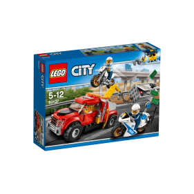 Lego 60137 - City Camión grúa en problemas