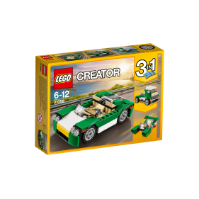 Lego 31056 - Descapotable verde