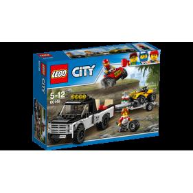 Lego 60148 - City Todoterreno del equipo de carreras