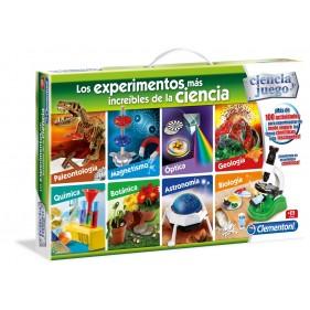 Los Experimentos más Increíbles de la Ciencia Clementoni