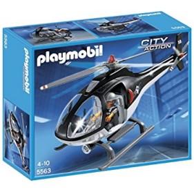 Playmobil 5563 - Helicóptero equipo especial