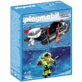 Playmobil 4910 - Lancha con Buzo