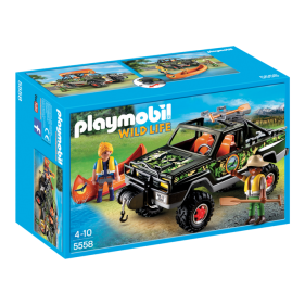 Playmobil 5558 - Pick Up de Aventura