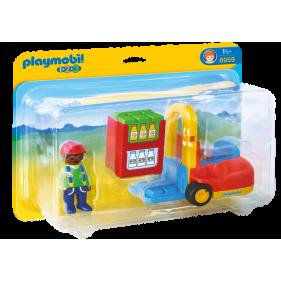 Playmobil 6959 - 1.2.3 Carretilla Elevadora