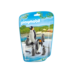 Playmobil 6649 - Familia de Pingüinos