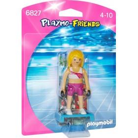 Playmobil 6827 - Entrenadora de fitness
