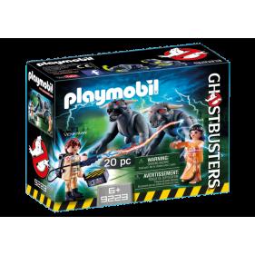 Playmobil 9223 - Venkman, Dana y Perros de Gozer