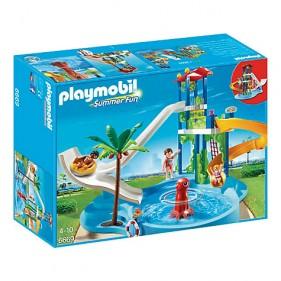 Playmobil 6669 - Parque Acuático con Toboganes