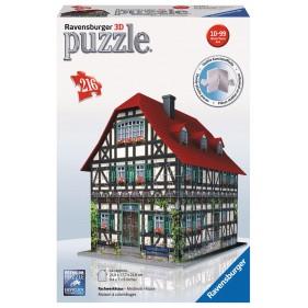 Puzzle 3D Ravensburguer - Casa medieval Volver
