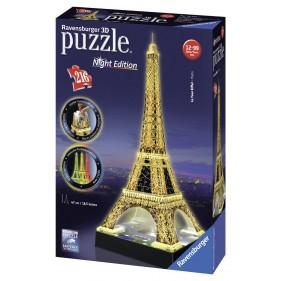 Puzzle 3D Ravensburguer - La Tour Eiffel Volver 'Night Edition'