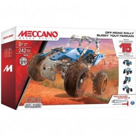Todoterreno ATV 15 Modelos Meccano