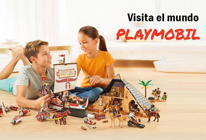 Visita el mundo Playmobil